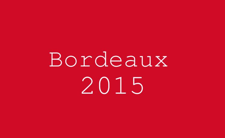 Bordeaux 2015 wordle
