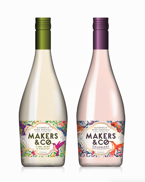 Makers & Co wine-based cocktail