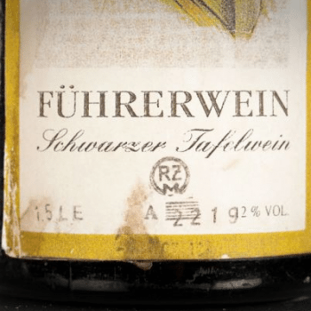 An example of Nazi-era German Riesling (Photo: Creative Commons)