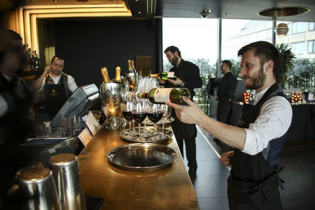 Event: Nominees Party for the British Academy Television Craft Awards and House of Fraser British Academy Television Awards Date: Thurs 21 April 2016 Venue: Rumpus Room, Mondrian London