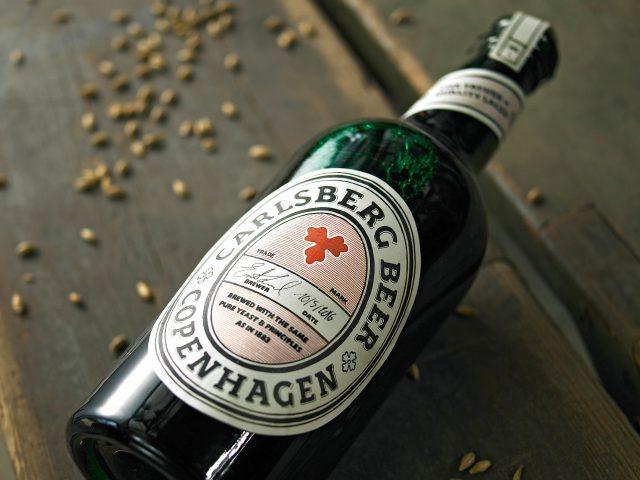 Carlsberg historical beer