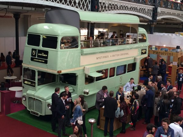 The London Wine Fair in pictures
