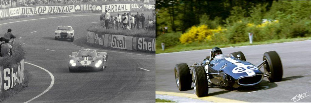 Gurney racing cars