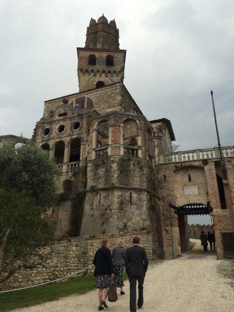 crumbling castello