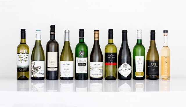 The varietal Bacchus wines that will be on tasting at (Photo: Great British Wines)