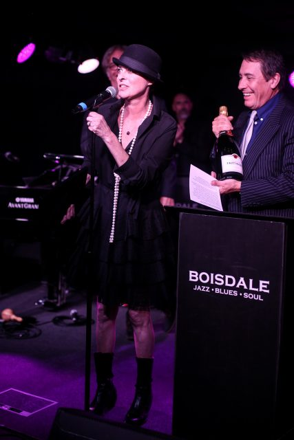 The Boisdale Music Awards at Boisdale of Canary Wharf, London, Britain on 29 Sep 2016.