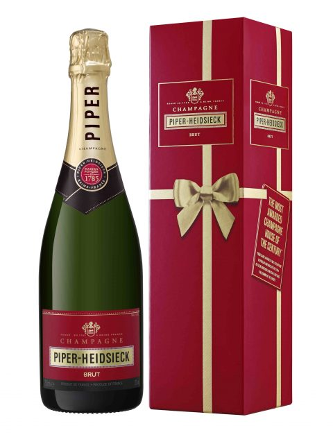 Camus considers Piper's Cuvée Brut as the most important Champagne in the range
