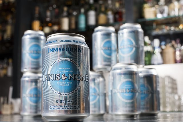 Pic Alan Richardson Dundee, Pix-AR.co.uk Innis and Gunn, Innes and None Alcohol Free Pale Ale