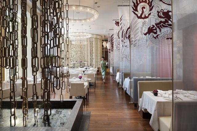 Yong Yi Ting, the newcomer to the Michelin star world at the Mandarin Oriental Pudong in Shanghai