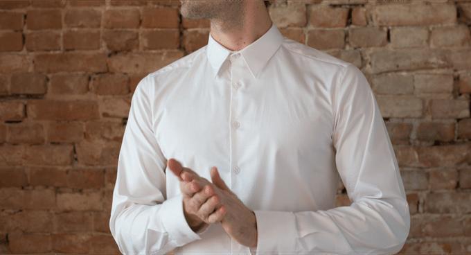 wine-repellant shirt launches on Kickstarter