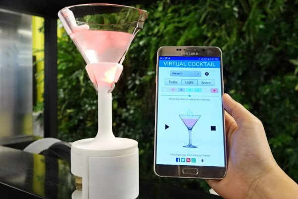 Could virtual cocktails be the next big thing?