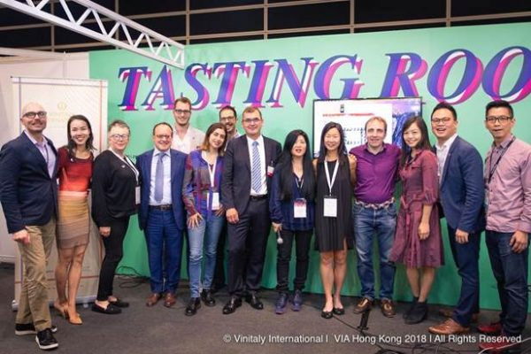 VIA welcomes new Italian wine ambassadors and experts to HK