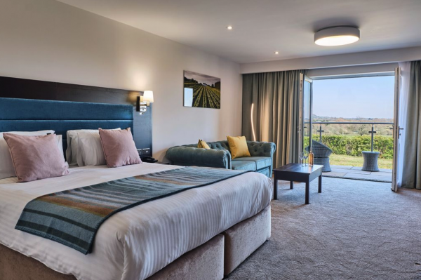 Welsh vineyard opens 26-bed hotel to boost wine tourism