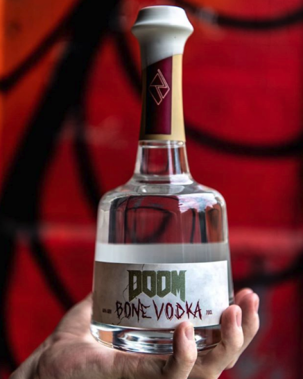 This drinks brand is selling vodka made with beef bones