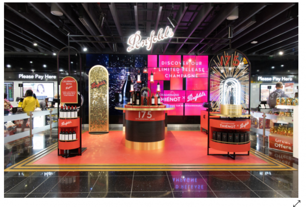 TWE targets travellers with first Penfolds 'wine bar' in Heathrow Airport
