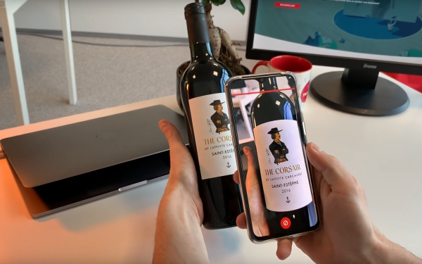 Bordeaux's 'first' wine with augmented reality label unveiled