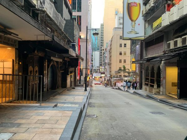 15% of Hong Kong bars have closed due to the pandemic