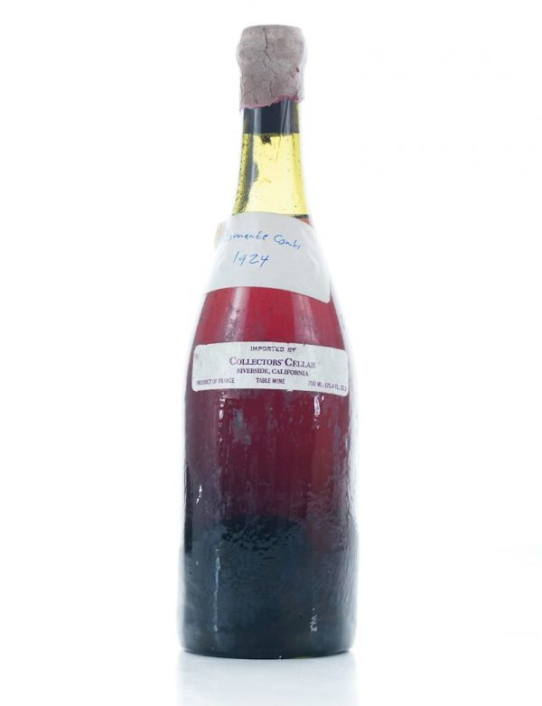 Bottle of DRC withdrawn from auction after authenticity concerns