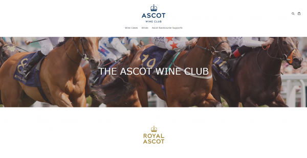 Ascot Racecourse launches online wine shop