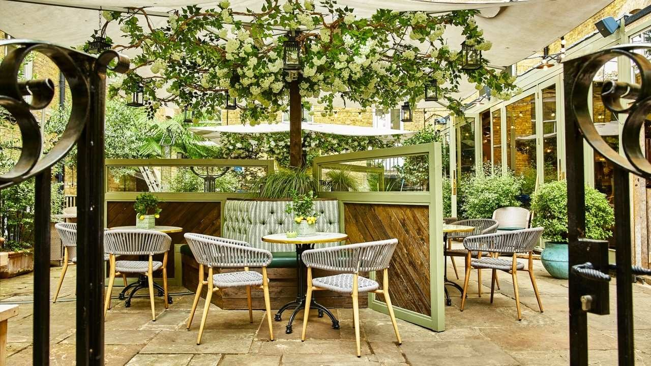 12 London restaurants with outdoor terraces 2021