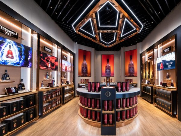 Hennessy's first Chinese flagship boutqiue opened in Sanya