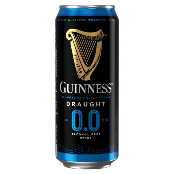 Diageo launches alcohol-free Guinness