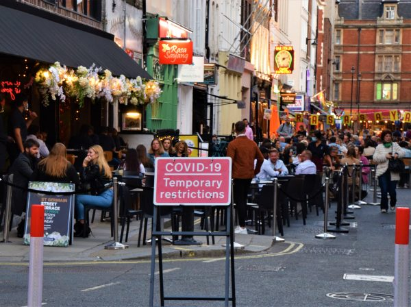 Tier three hospitality venues suffer 60% sales drop