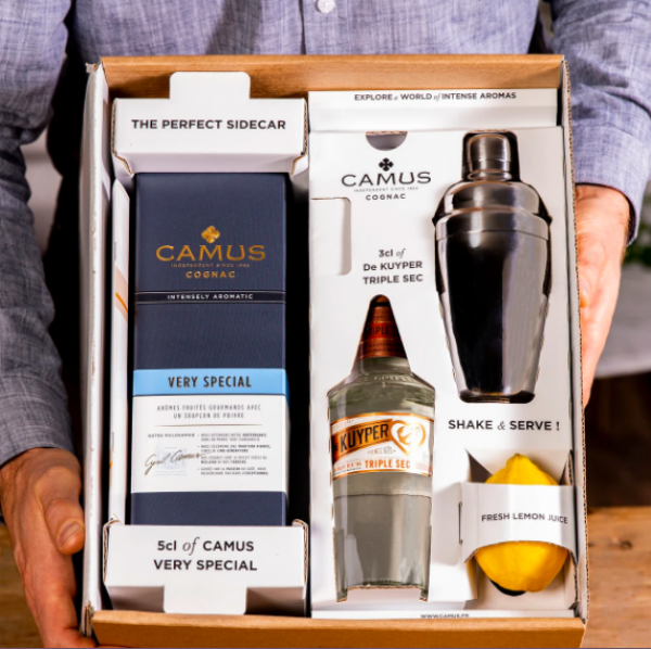 Camus launches Sidecar cocktail kit