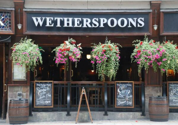 JD Wetherspoon makes first loss in 36 years