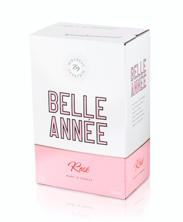 Mirabeau launches bag-in-box rosé