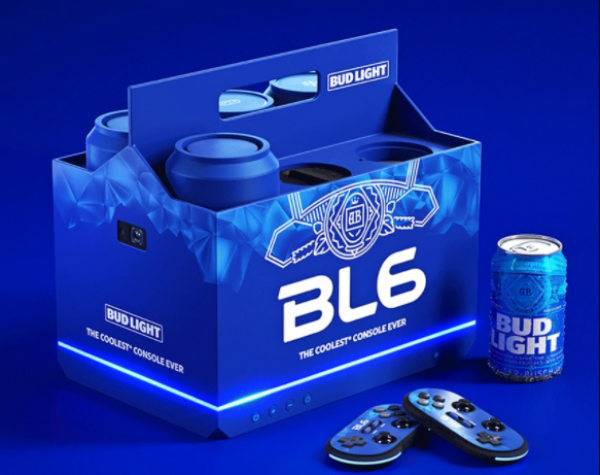 Bud Light launches games console that can chill beer