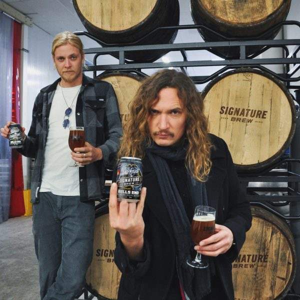 Signature Brew and The Darkness team up on beer