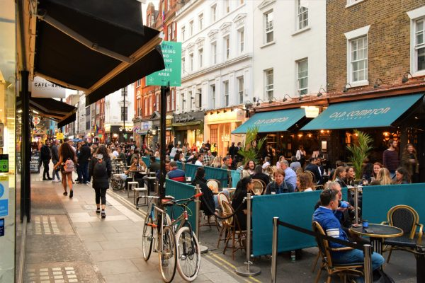 London restaurants and pubs to enter tier two next week