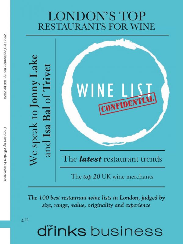 Digital edition of <i>Wine List Confidential</i> 2020 launches