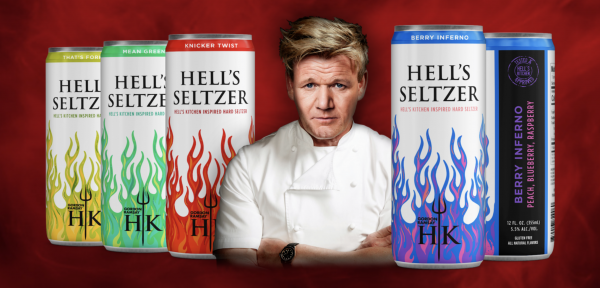 Gordon's and tonic: Ramsay releases hard seltzers