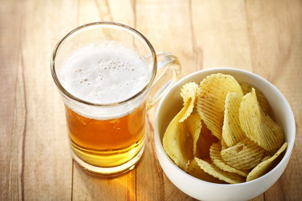 Beer and crisps used to cut carbon emissions