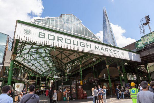 Borough Market legally enforces mask wearing