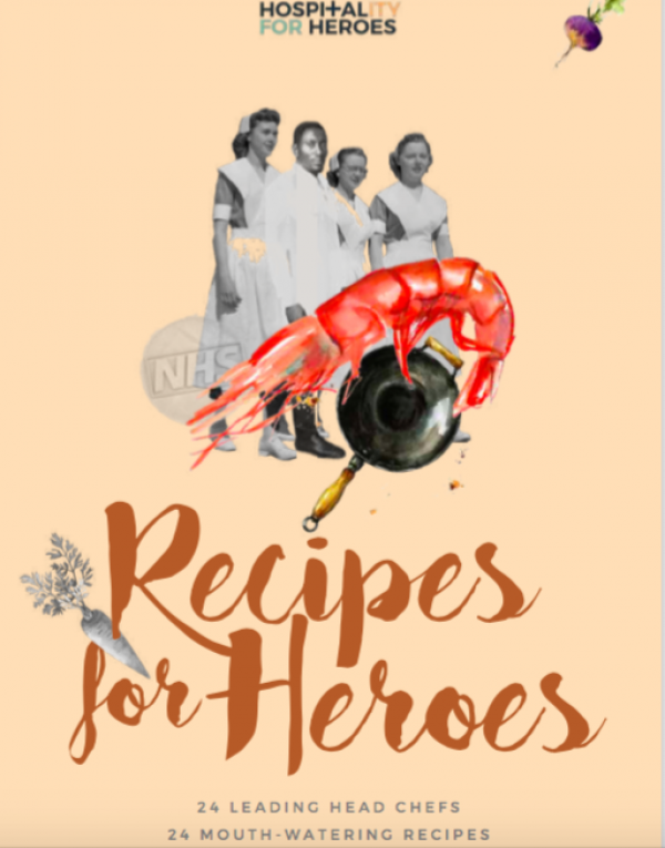 Hospitality for Heroes launches cookbook