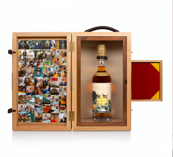 Sotheby's to auction 'one-of-a-kind' Macallan whisky
