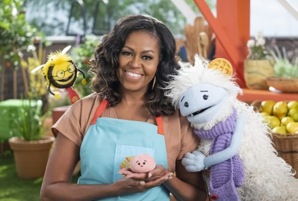 Michelle Obama to star in cooking show for kids