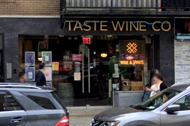 Booze theft at Taste Wine Co. in NoHo, NYC