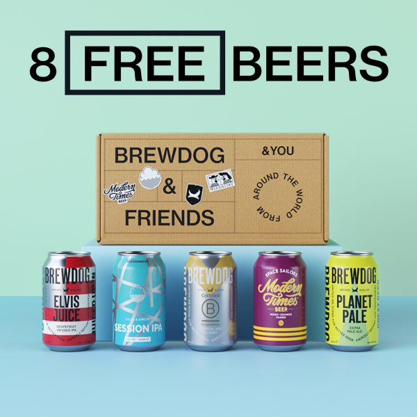 BrewDog launches world's first carbon negative beer club – and your first box is free