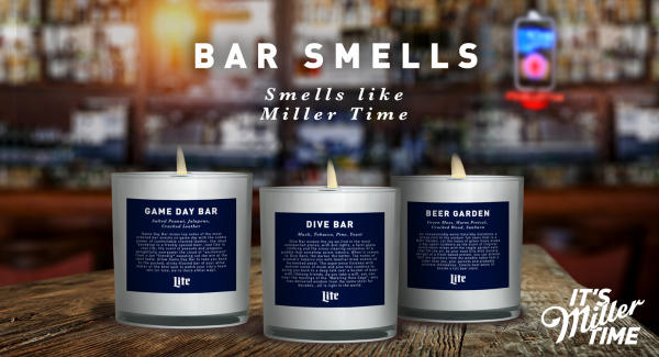 Beer brand Miller Lite releases candle that smells like a bar