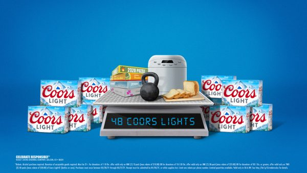 Coors Light will let you trade in your quarantine clutter for its weight in free beer