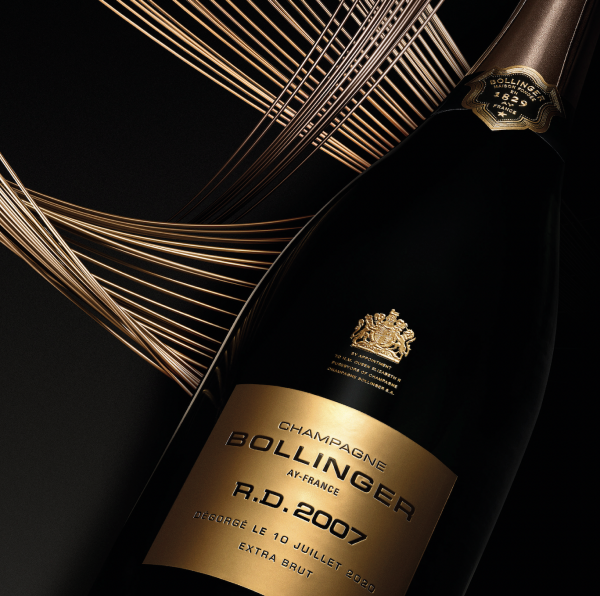 Bollinger RD 2007 launched with new look featuring past label