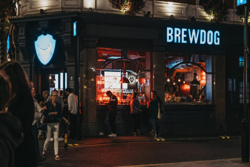A BrewDog location