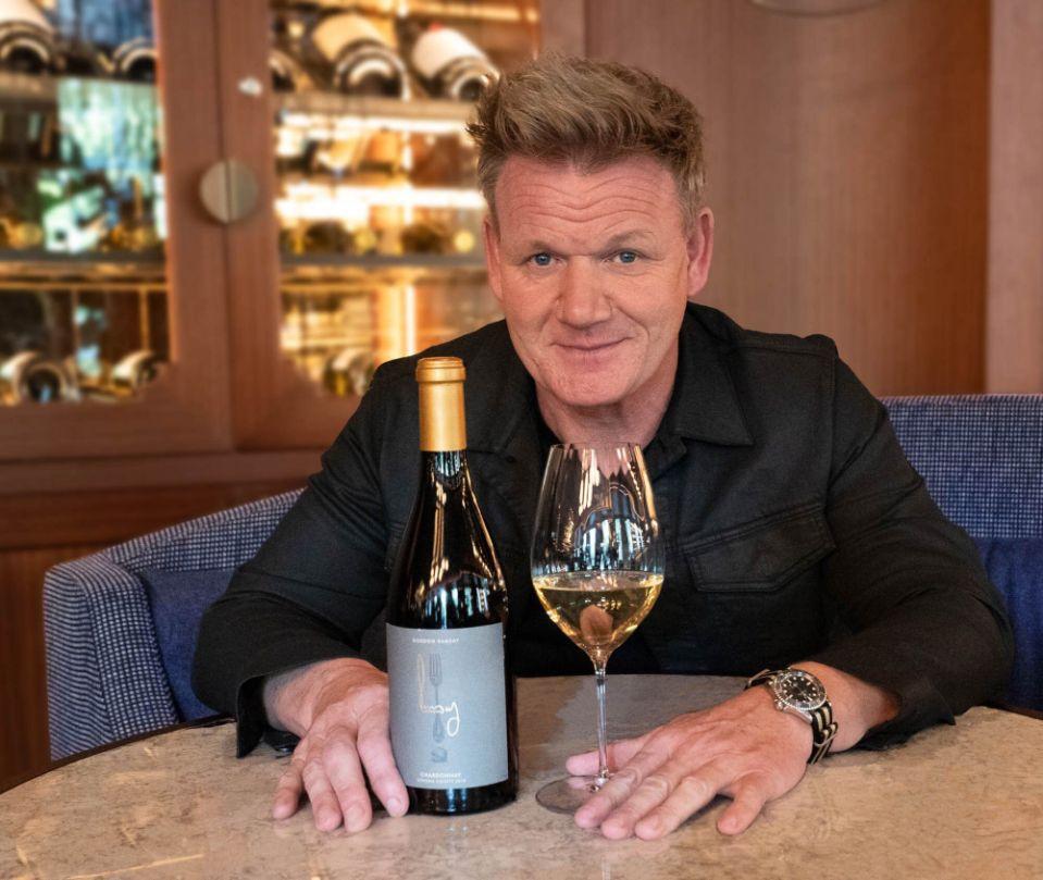 Gordon Ramsay wine