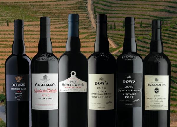 Symington family bottles six 2019 quinta vintage Ports