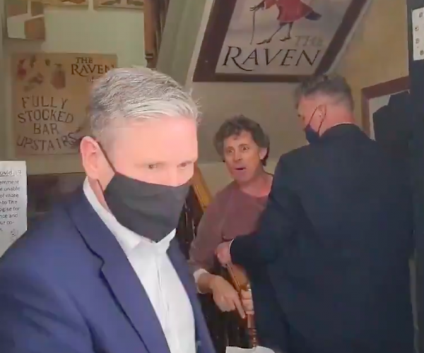 Sir Keir Starmer thrown out of pub by furious landlord over lockdown row