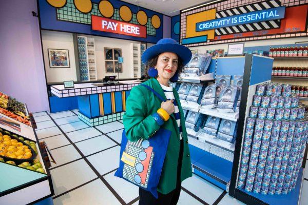 Bombay Sapphire launches pop-up Pop Art supermarket